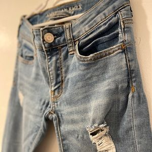 American Eagle super super stretch jeans!